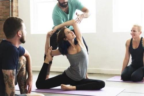 Aula de Yoga contra a depressão