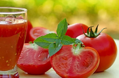 Suco de tomate ajuda a perder peso.