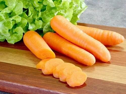 Alface e cenoura para combater a gastrite