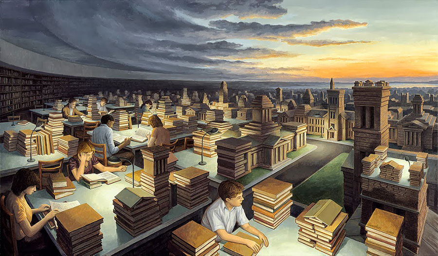 Tower of Knowledge - Rob Gonçalves