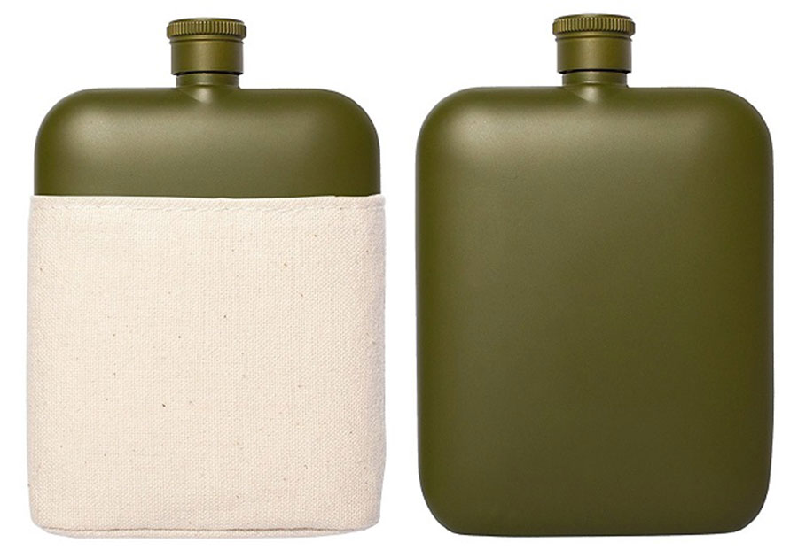 Izola Army Green Flask