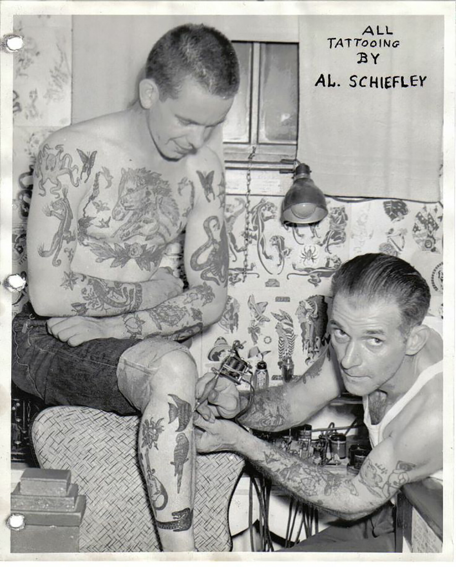 Al Shiefley - Tatoo 2
