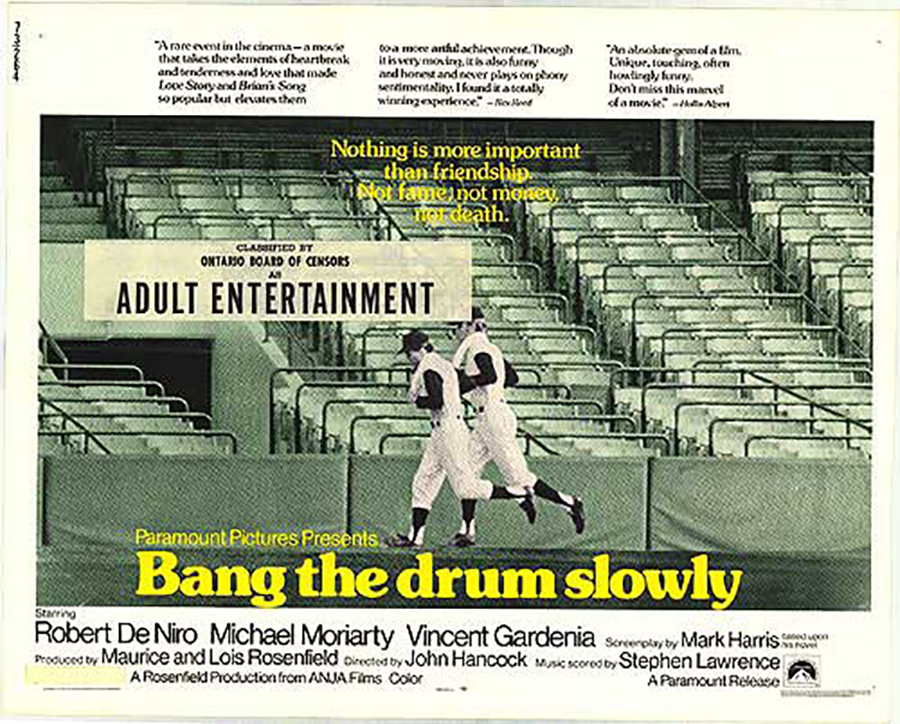 Bang the Drum Slowly - Robert de Niro