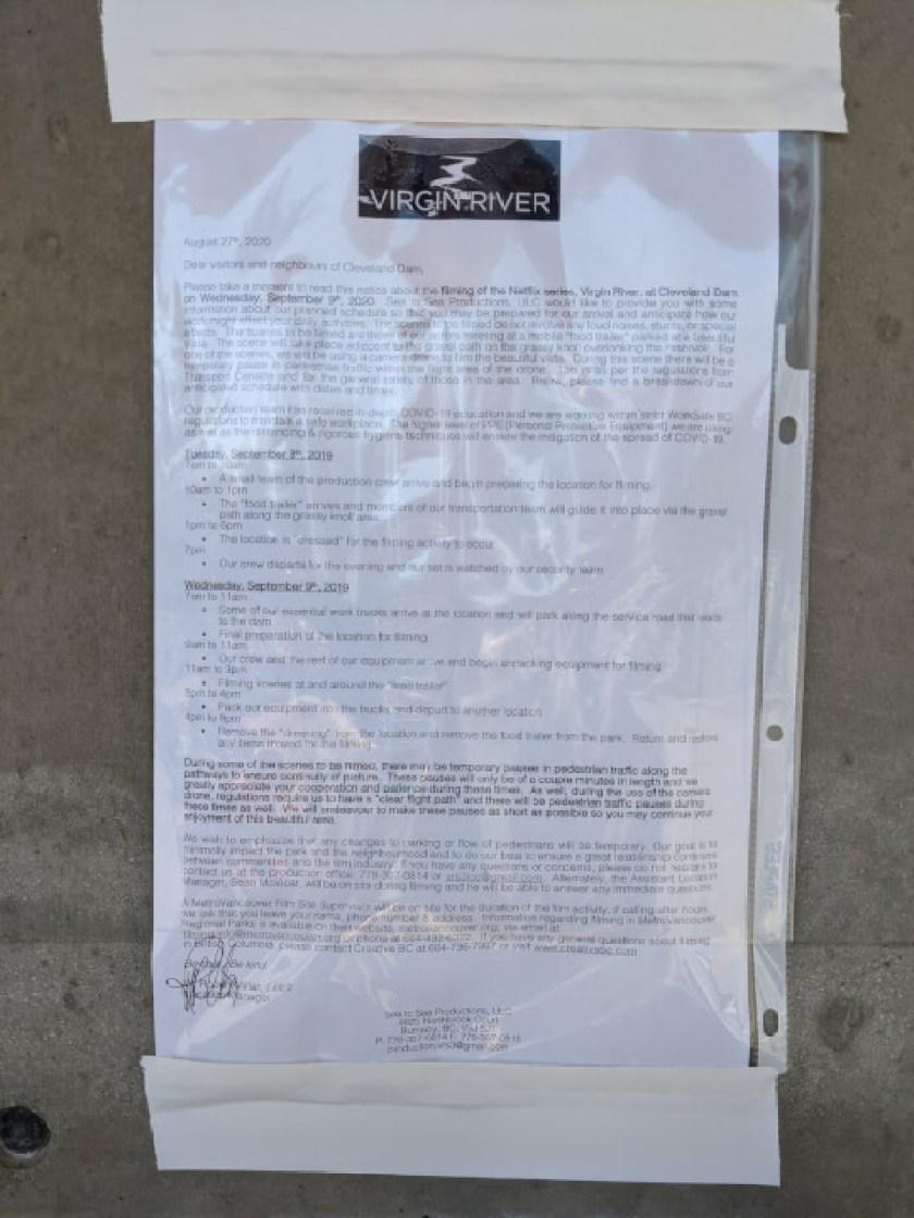 Aviso de produção da 3ª temporada do Virgin River