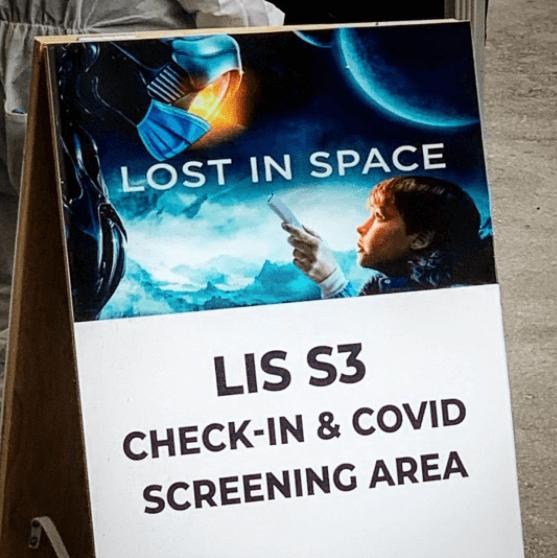 perdido no espaço temporada 3 sinal covid