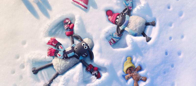 um conto de inverno Shaun the sheep netflix