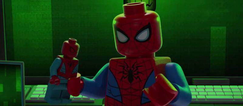 lego spider man netflix especial março de 2021