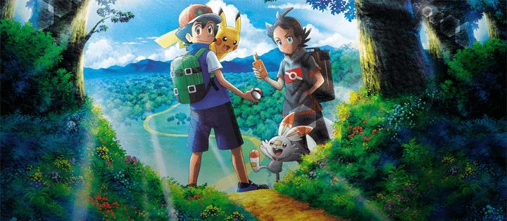 novo anime na Netflix junho de 2020 Pokémon Journeys