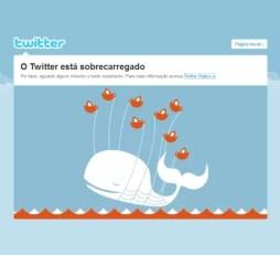 Twitter sobrecarregado