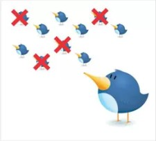 Unfollow não seguidores Twitter