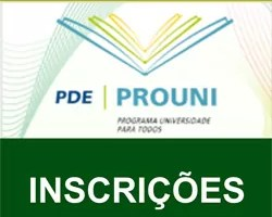 Inscrição Prouni 2012