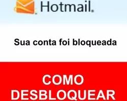Desbloquear Hotmail bloqueado