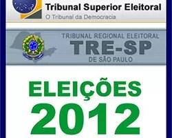 TSE TRE Eleições 2012