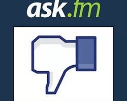 Bloquear mensagens ask.fm Facebook