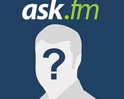 Não receber perguntas anônimas ask.fm