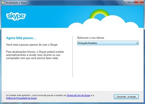 instalar skype idioma