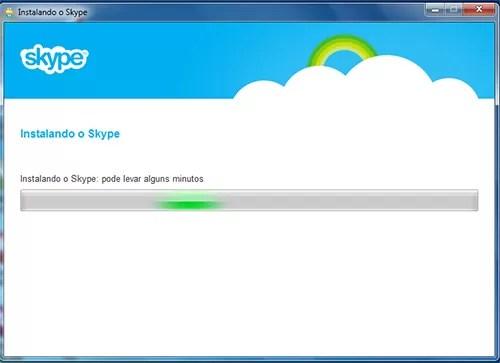 intalar skype
