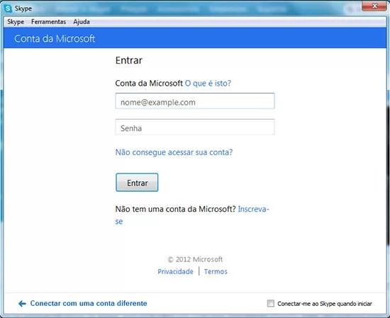Migrar contatos MSn Messenger Skype