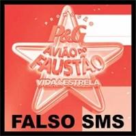 Mensagem SMS Avião Faustão Golpe