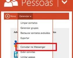 Adicionar contato MSN Skype