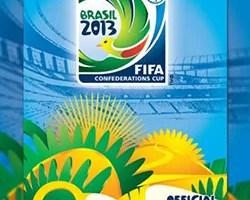 Álbum figurinhas Copa Confederações 2013