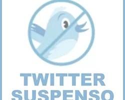Twitter suspenso