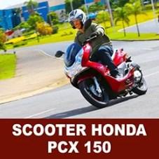 Scooter PCX 150 2014 da Honda tem várias qualidades e preço acessível