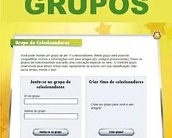 Grupo álbum virtual Brasileirão
