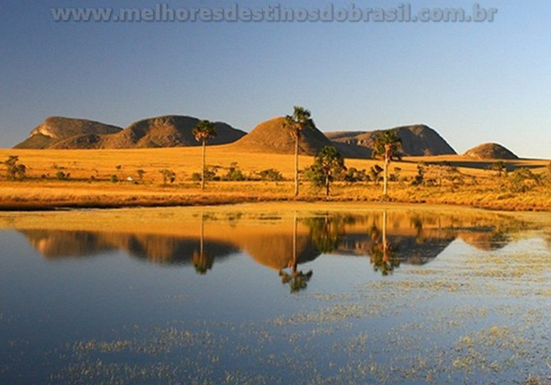 Seis Lugares Próximos De Brasilia - parque nacional chapada dos veadeiros