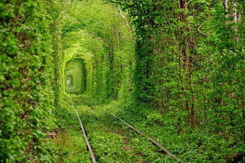 Túnel Do Amor - Ucrânia
