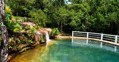 Natureza e águas termais - Jaciara