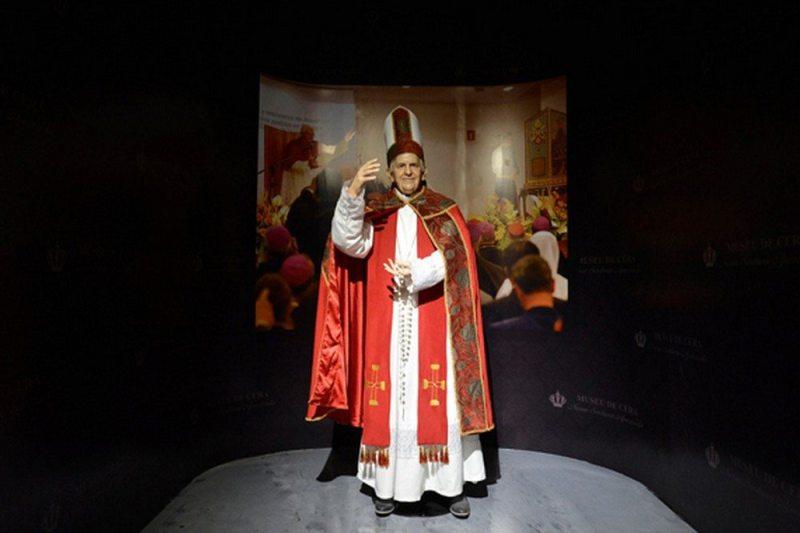 Aparecida ganha primeiro museu de cera religioso