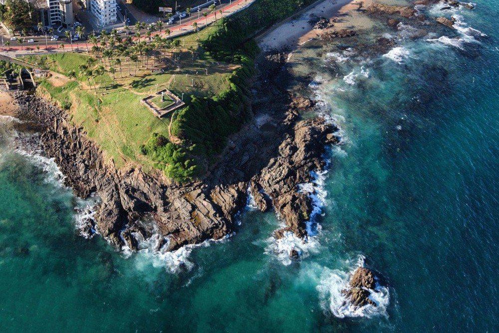 Fotos aéreas mostram toda a beleza de Salvador