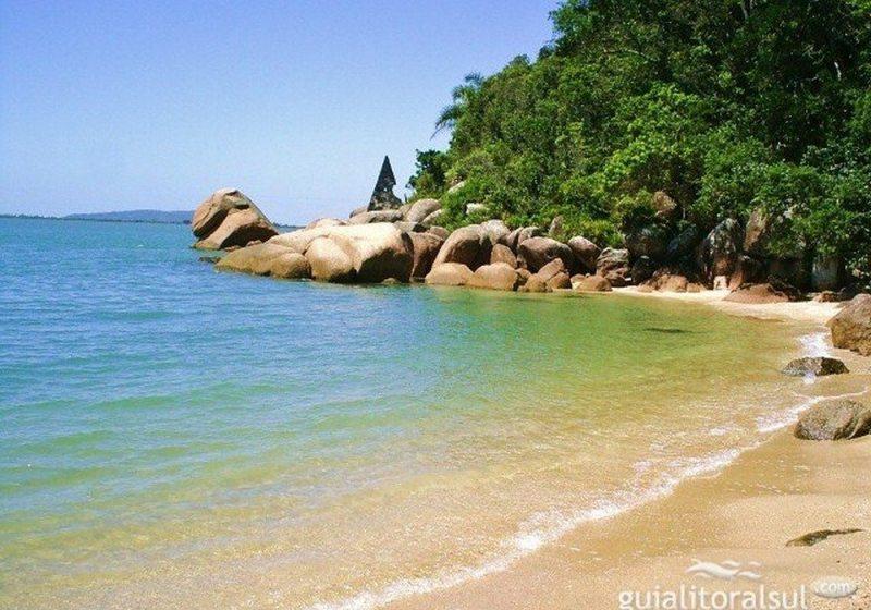 Praia de Pedras altas - Palhoça SC