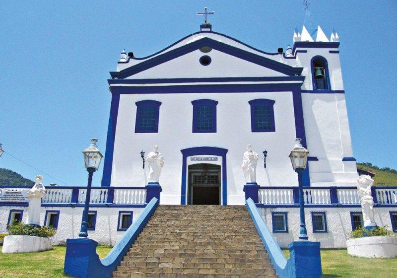 Igreja Matriz De Nossa Senhora Da Ajuda Em Ilhabela