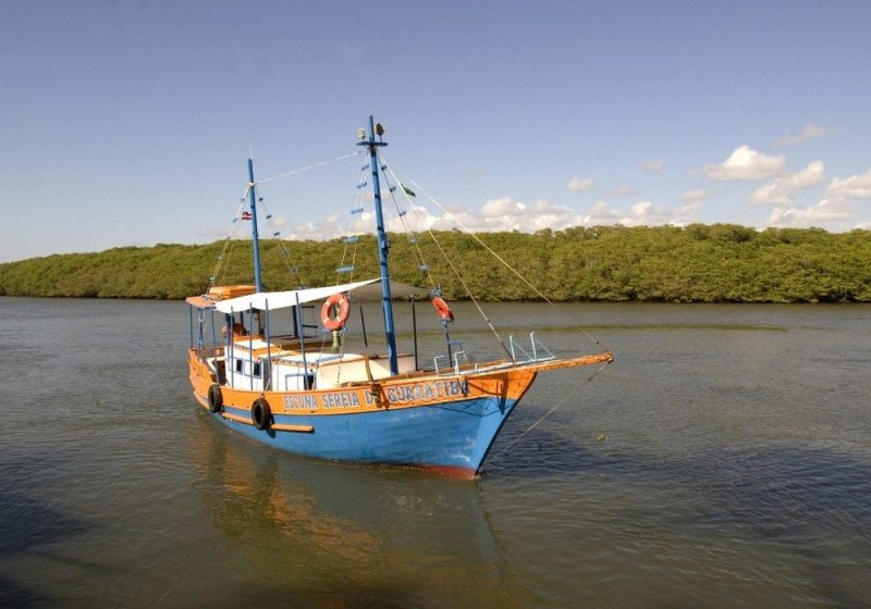 Barco No Rio Jurucuçu