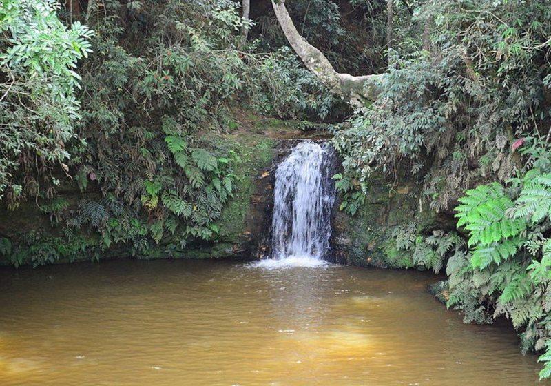 Cachoeira Da Lua Em São Tomé Das Letras