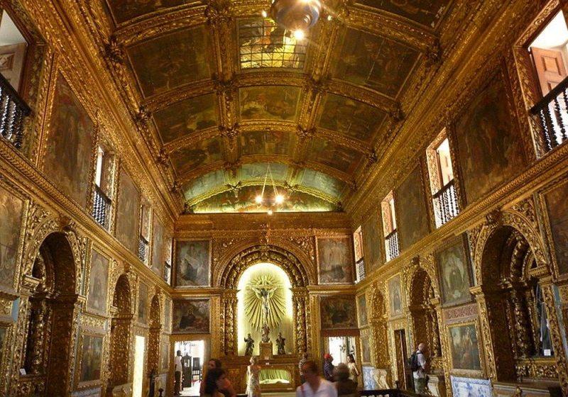 Capela Dourada Em Recife