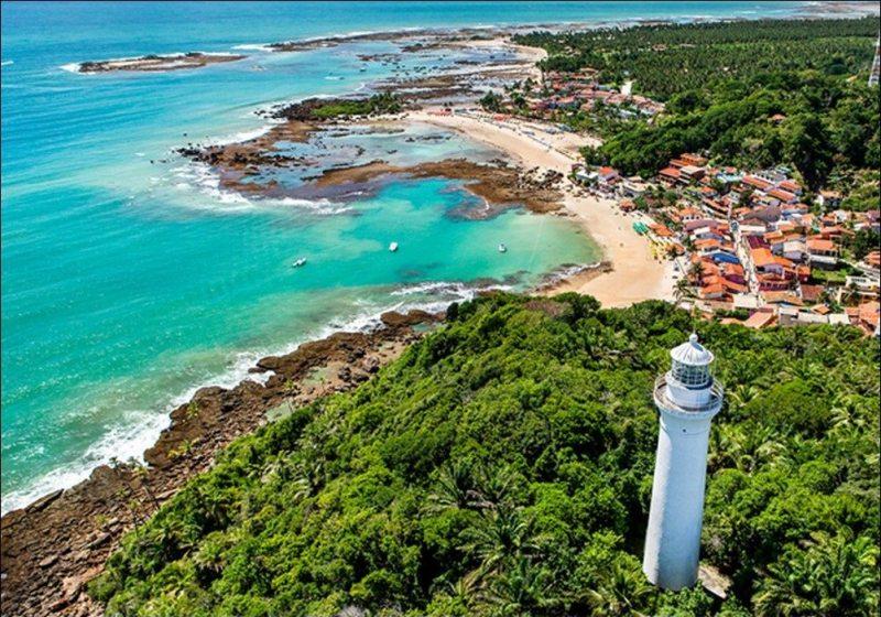 Farol do Morro de São paulo Bahia