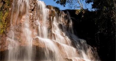 cachoeira em Itirapina