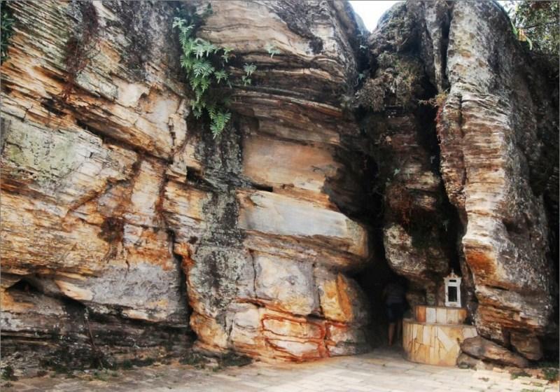gruta que leva para machu picchu
