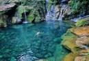 Poço Azul é destino paradisíaco no Maranhão