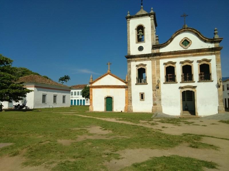igreja de santa rita, paraty