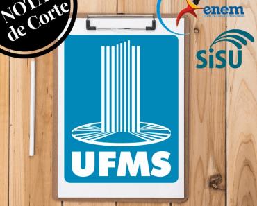 Notas de corte UFMS Sisu 2018