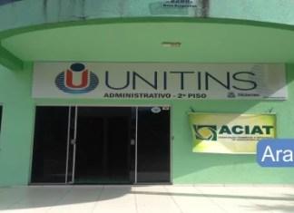 Notas de corte UNITINS Sisu 2018