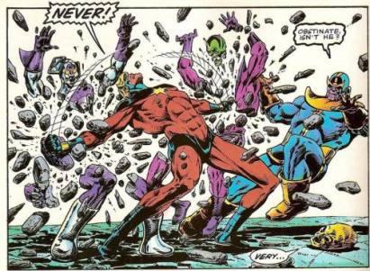 thanos-vs-captain-marvel-stone-figures