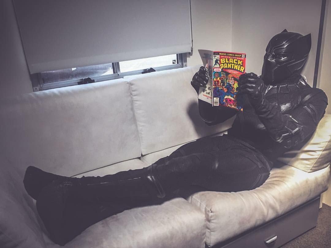 De que andam xingando o Pantera Negra?