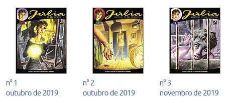 [A gente lemos COM SPOILEREZES] Júlia, aventuras de uma criminóloga, 1 a 3 (reedição em formato italiano)