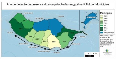 Aedes aegypti na Madeira melhorsaude.org