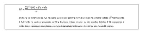 Indice glicémico formula melhorsaude.org melhor blog de saude